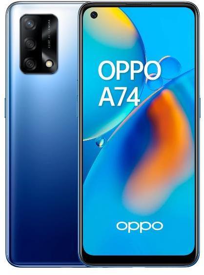 SmartPhone GSM/GPRS/EDGE/UMTS/HSDPA OPPO A74 BLUE