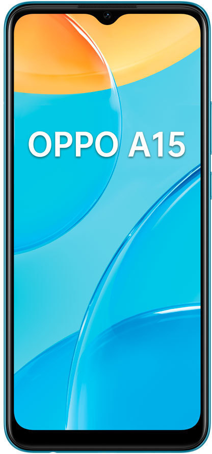 SmartPhone GSM/GPRS/EDGE/UMTS/HSDPA OPPO A15 BLUE