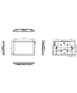 MONITOR DIGITAL SIGNAGE HASTA 12 PULGADAS PHILIPS MONITOR T CTIL 10 TEC. ANDROID