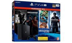 Consola de juegos SONY PS4 PRO 1TB TLOU UNATHAN UNCHARTED