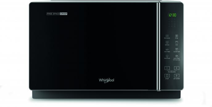 WHIRLPOOL MICROONDAS MWF206SB 20L NEGRO GRILL