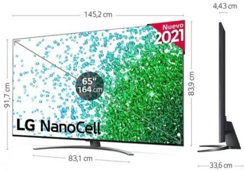 LG TELEVISOR 65NANO816PA 4K NANOCELL SMART TV