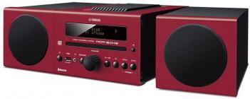 Compacto Yamaha MCRB043 Alarma Bluetooth Rojo
