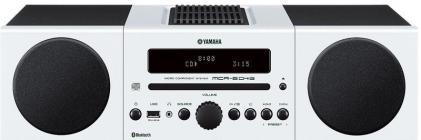 Compacto Yamaha MCRB043 Alarma Bluetooth Blanco