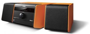 Compacto Yamaha MCRB020 Alarma Bluetooth Naranja