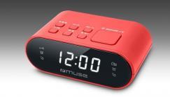 Radioreloj Muse M10RED Digital Rojo
