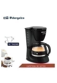 ORBEGOZO CAFETERA CG4060N GOTEO NEGRA 12 TAZAS