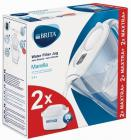 Jarra Brita MARELLA Blanca+2 Filtro 2.4l(1028185)