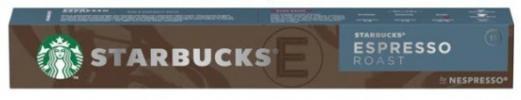 Pack10 Nespresso STARBUCKS Espresso Roast 6200693
