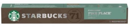 Pack10 Nespresso STARBUCKS Pike Place 6200493
