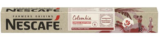Pack10 Nespresso NESCAFÉ Colombia Descaf (6600440)