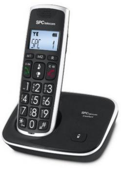 SPC TELEFONO 7608N DECT NEGRO