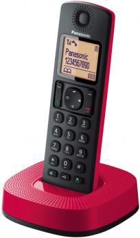 PANASONIC TELEFONO KXTGC310SPR DECT ROJO/NEGRO