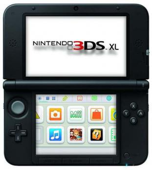 "NINTENDO CONSOLA 3DS XL 4.88"" 4GB NEGRO"