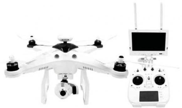 SENTINEL DRON GALAXY II 800 METROS TIEMPO REAL