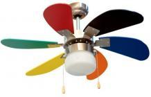 Ventilador Orbegozo CC65085 Techo 85cm Luz Colores