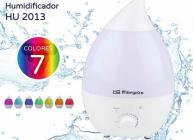 Humidificador Orbegozo HU2013 1,3l 7colores