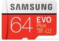Tarjeta de memoria Micro SD SAMSUNG MICROSD ADAPTADOR EVOP 64GB