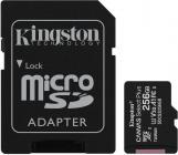 Tarjeta de memoria Micro SD KINGSTON 256GB MSD CSPLUS 100R A1 C10 + ADP