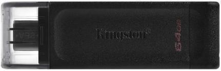 Memoria USB 64 GB KINGSTON 64GB USB-C 3.2 GEN1 DT70