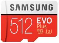 Tarjeta de memoria Micro SD SAMSUNG MICROSD ADAPTADOR EVO 512GB