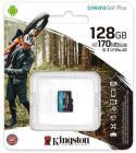 Tarjeta de memoria Micro SD KINGSTON 128GB MICROSD CANVAS GO PLUS