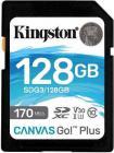 Tarjeta de memoria Secure Digital (SD) KINGSTON 128GB SD CANVAS GO PLUS 170R C10