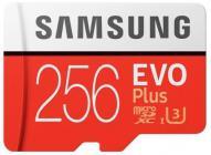 Tarjeta de memoria Micro SD SAMSUNG MICROSD ADAPTADOR EVOP 256GB